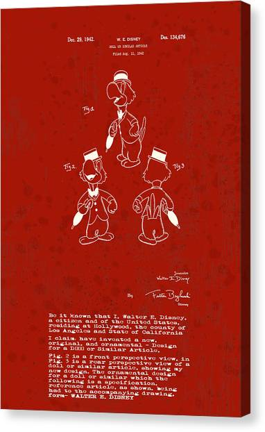 Disney Jose Carioca Canvas Print