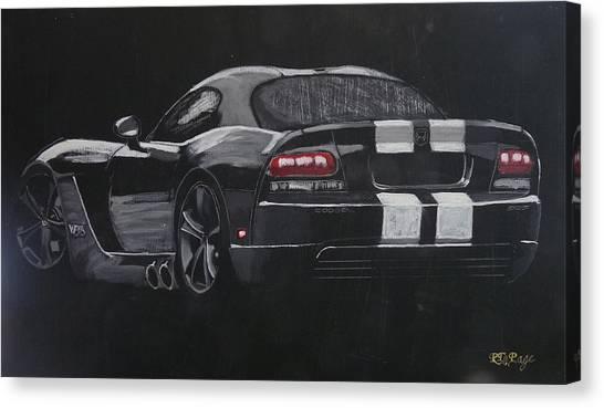 Dodge Viper 1 Canvas Print