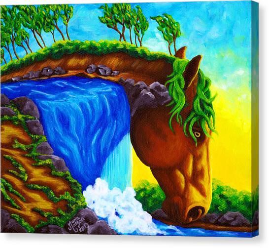 Equifall Canvas Print