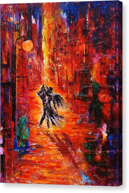 Eternal Dance Canvas Print