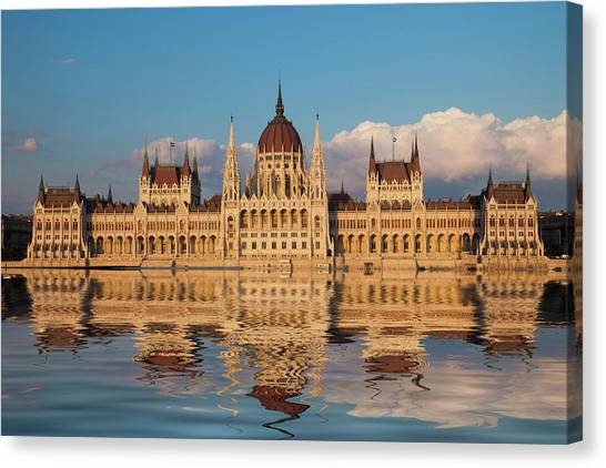 Budapest Canvas Print - Europe, Hungary, Budapest by Jaynes Gallery