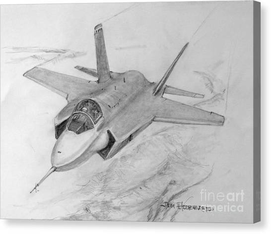 F-35 Joint Strike Fighter Canvas Print