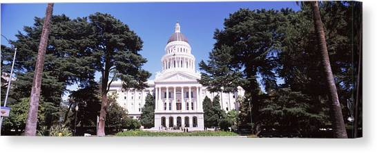 Big West Canvas Print - Facade Of A Government Building by Panoramic Images