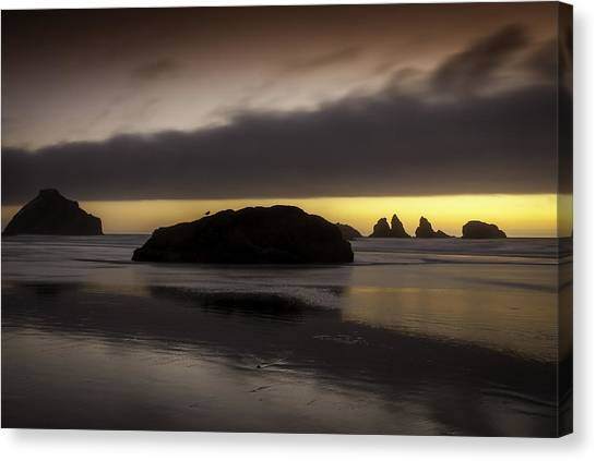 Face Rock Bandon By The Sea Canvas Print