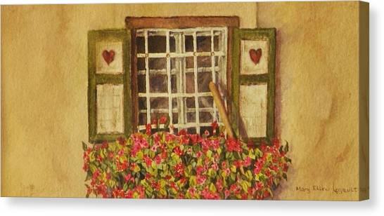 Farm Window Canvas Print
