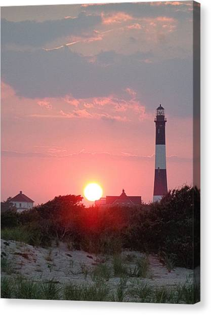 Fire Island Sunset Canvas Print