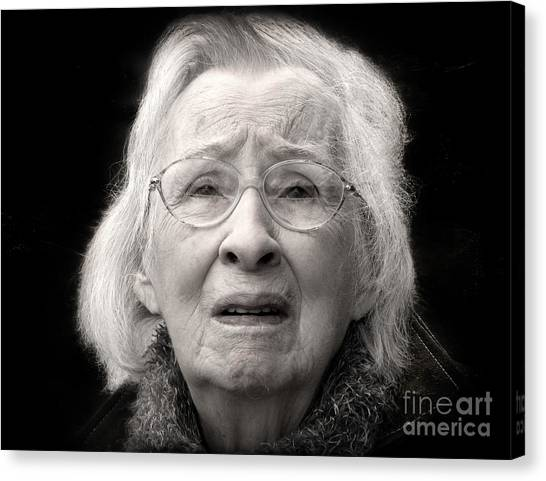 Five Minutes In A Long Life Canvas Print