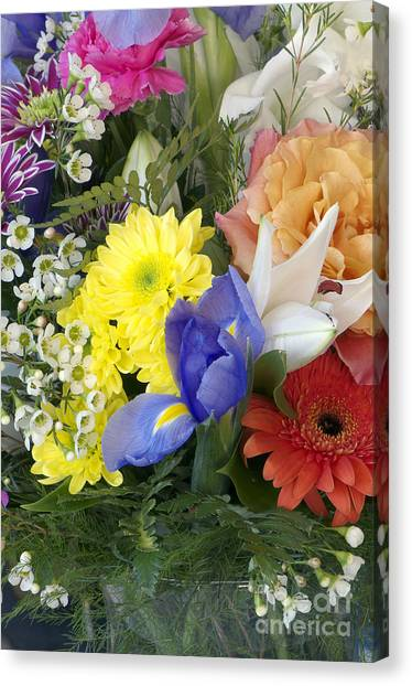 Floral Bouquet 4 Canvas Print
