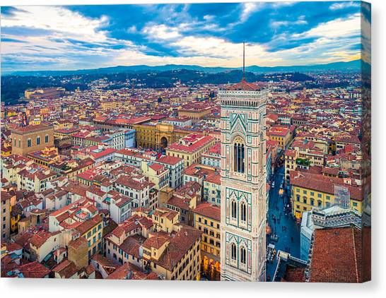 Florence Canvas Print - Florence by Cory Dewald