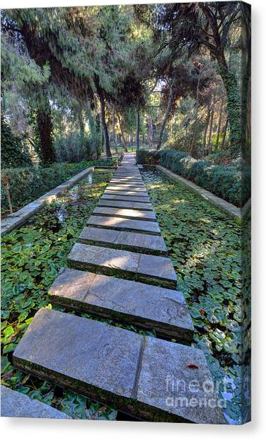 National Park Canvas Print - Footpath by George Atsametakis