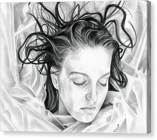 Forget Me Not - Laura Palmer - Twin Peaks Canvas Print