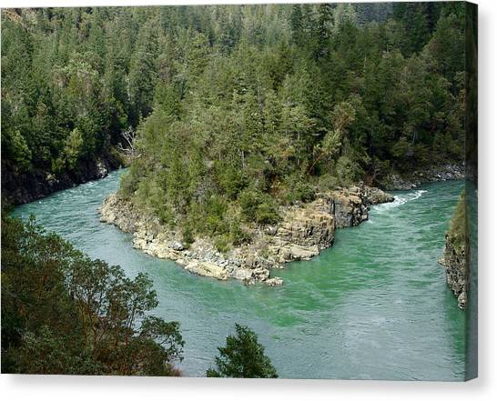 Forks Of The Smith River Canvas Print