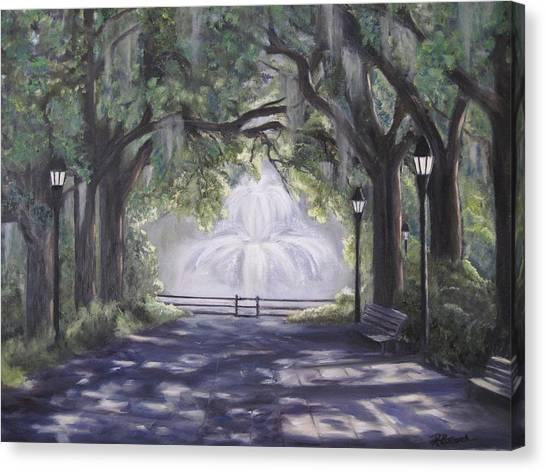 Forsythe Park Canvas Print
