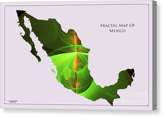 Elevation Map Canvas Prints (Page #4 of 6) | Fine Art America