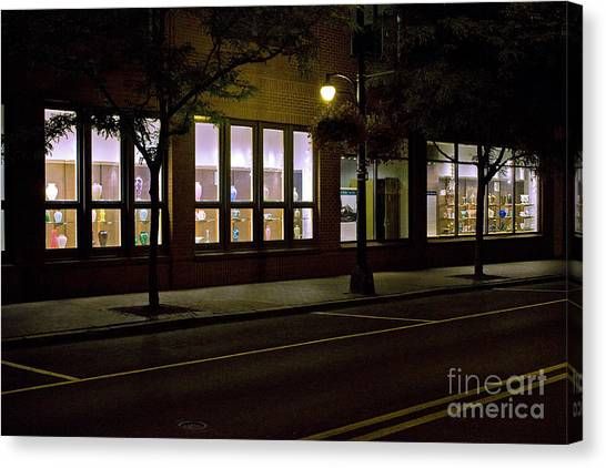 Frederick Carter Storefront 2 Canvas Print