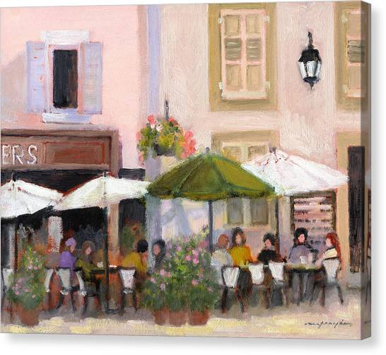 French Country Cafe Il Canvas Print