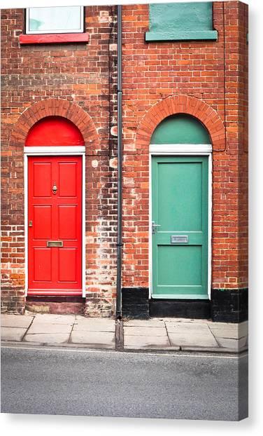 Door Canvas Print - Front Doors by Tom Gowanlock & Door Canvas Prints | Fine Art America