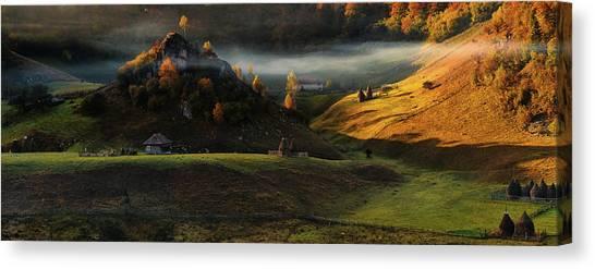 Panorama Canvas Print - Fundatura Ponorului by Cristian Lee