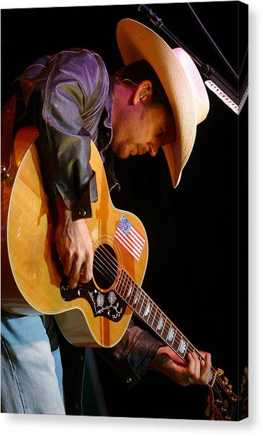 Gary Allan Canvas Print by Don Olea