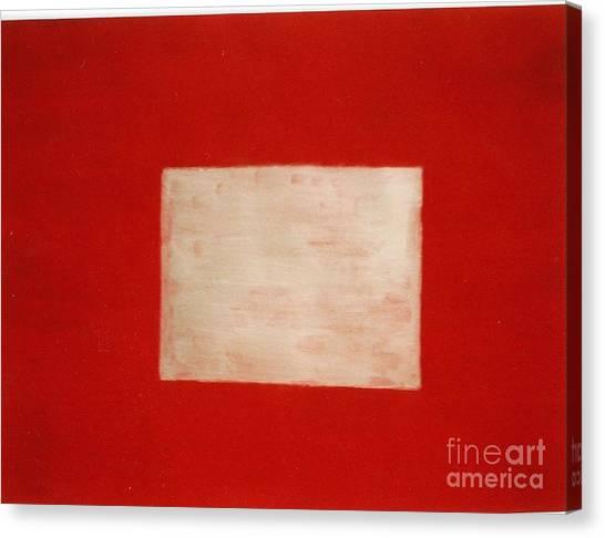 Gold Square Canvas Print