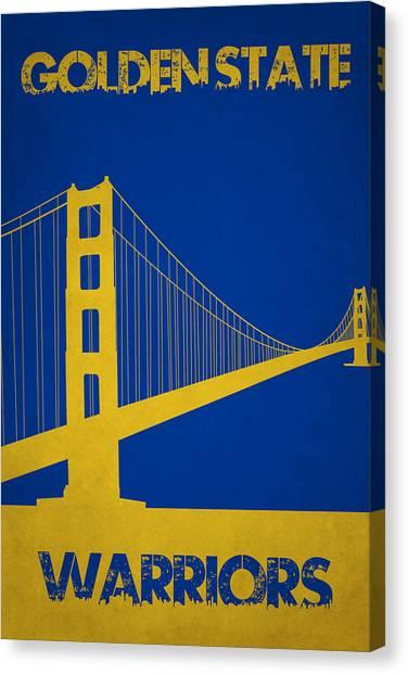 Golden State Warriors Canvas Print - Golden State Warriors by Joe Hamilton