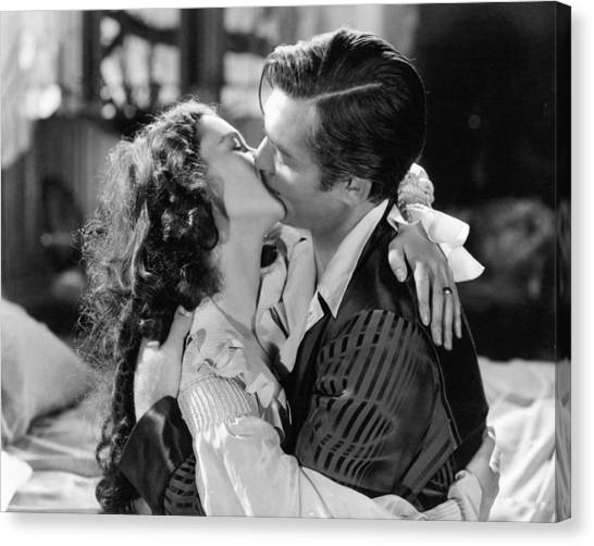 Gone With The Wind Canvas Print - Gone With The Wind  by Silver Screen
