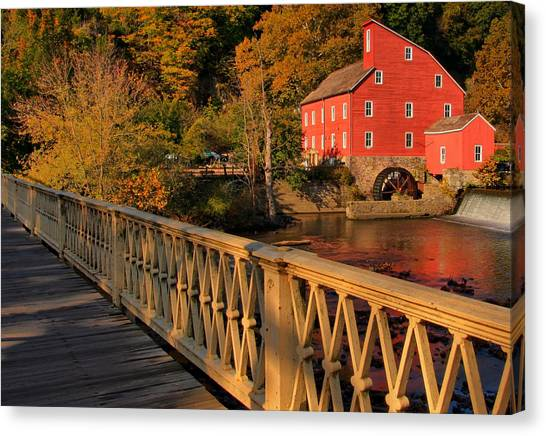 Good Morning Red Mill Canvas Print