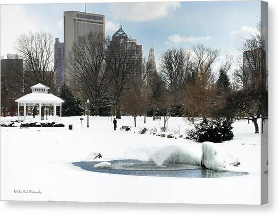 D48l3 Goodale Park Photo Canvas Print