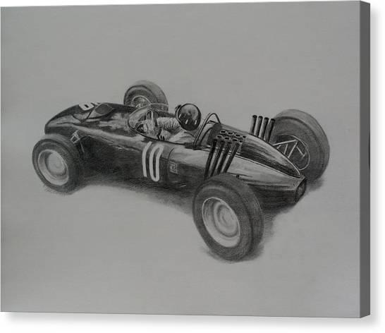 Graham Hill  Brm Canvas Print