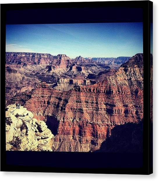 Grand Canyon Canvas Print - Grand Canyon by Valerie Olivas