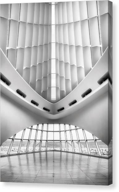 Glass Art Canvas Print - Grand Entrance by Scott Norris