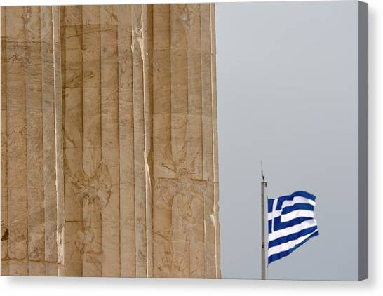 The Acropolis Canvas Print - Greece, Athens, Acropolis by Jaynes Gallery