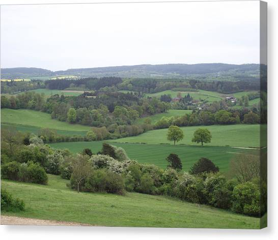 Green And Pleasant Land Canvas Print