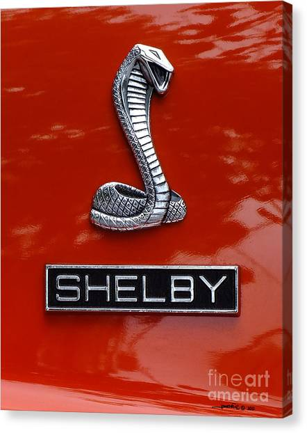 Gt350shelby Canvas Print
