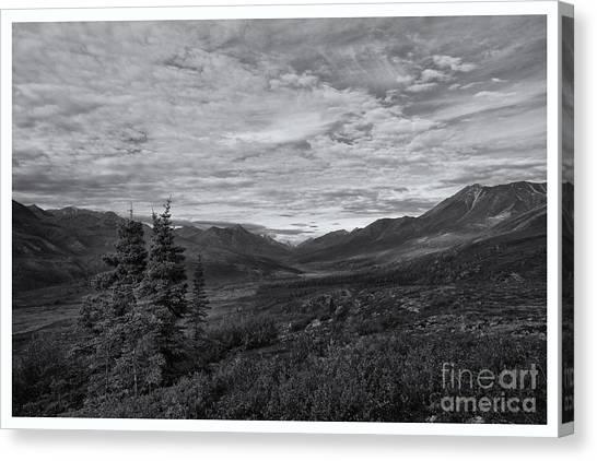 Yukon Canvas Print - Guardians Of The Valley by Priska Wettstein