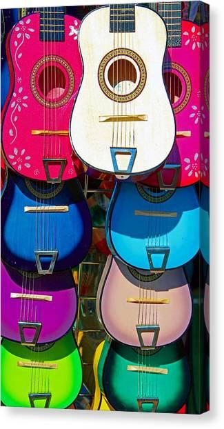 Guitars Canvas Print