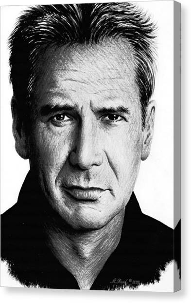 Fineart Canvas Print - Harrison Ford by Andrew Read