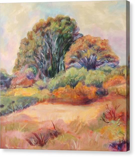 Henry's Backyard Canvas Print