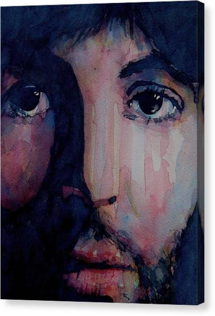 Paul Mccartney Canvas Print - Hey Jude by Paul Lovering