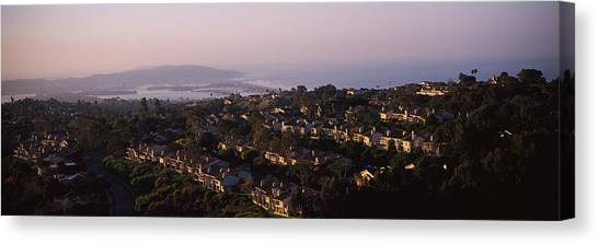 Mission San Diego Canvas Print - High Angle View Of Buildings In A City by Panoramic Images