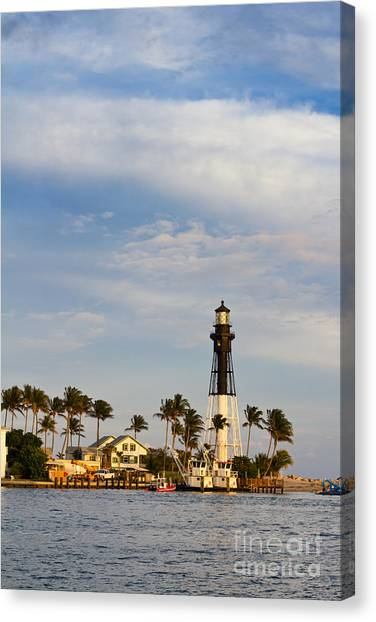 Hillsboro Inlet Lighthouse Canvas Print