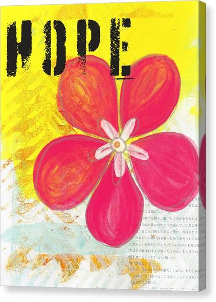 Teachers Canvas Print - Hope by Linda Woods