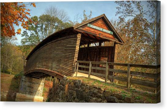 Humpback Covered Bridge Canvas Print