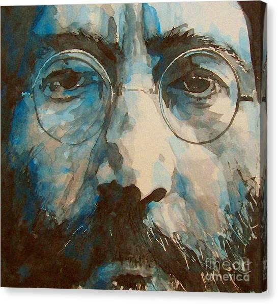 John Lennon Canvas Print - I Was The Dreamweaver by Paul Lovering
