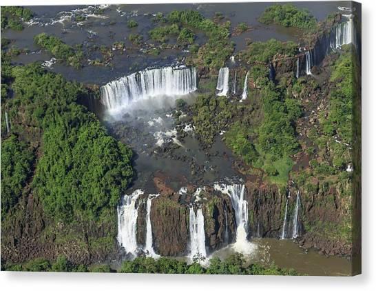 Iguazu Falls Canvas Print - Iguazu Falls by Alfred Pasieka