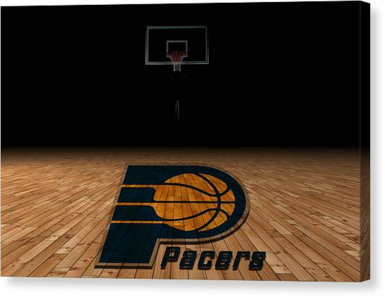 Ball State University Canvas Print - Indiana Pacers by Joe Hamilton