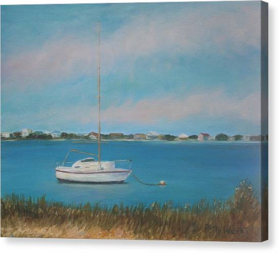Inlet Drive Canvas Print