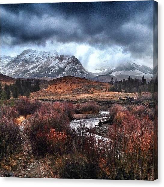 Idaho Canvas Print - Instagram Photo by Cody Haskell