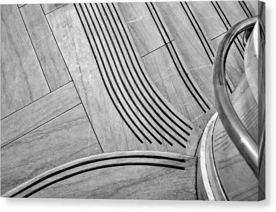 Intersection Of Lines And Curves Canvas Print