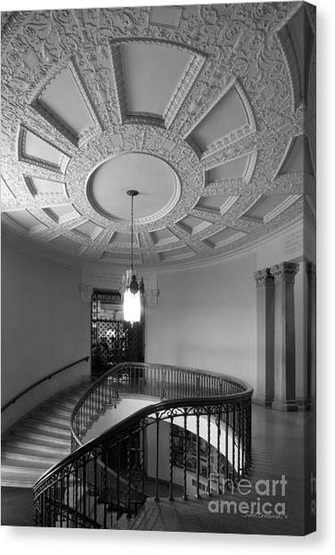 Iowa State University Canvas Print - Iowa State University Memorial Union Stairwell by University Icons